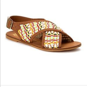 House Of Harlow 1960 Izzy Woven Sandals 36 US 6